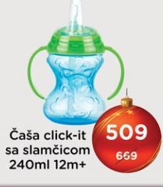 Čaša Click-It Nuby