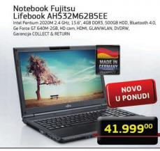 Notebook Lifebook AH532M62B5EE