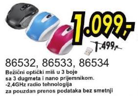 Bežični optički miš 86533