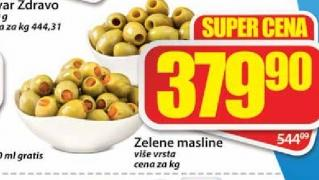 Zelena maslina