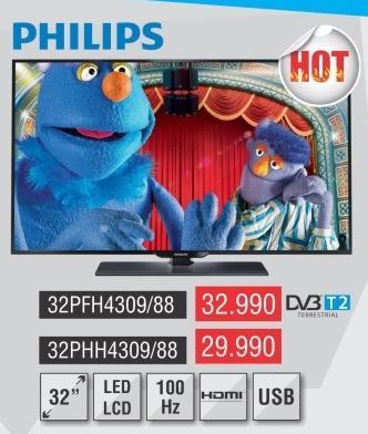 "Televizor LED 32"" 32pfh4309/88"