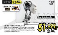 3D televizor LED LCD 32LA6130