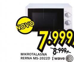 Mikrotalasna rerna MS-2022D