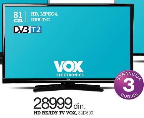 """Televizor LED 32"""" 32D600"""