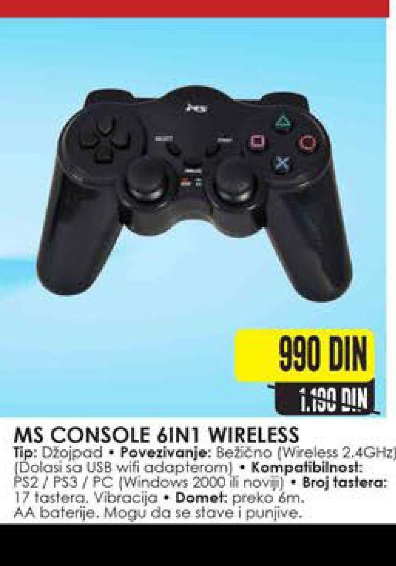 Miš wireless 6in1