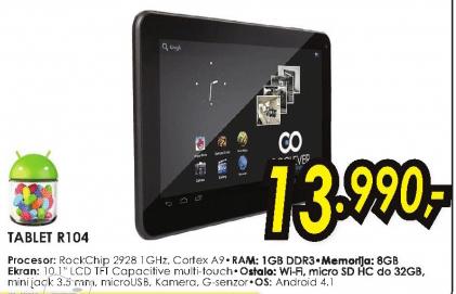 Tablet R104