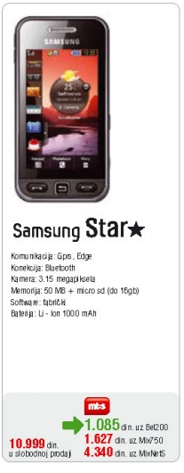 Mobilni Telefon Star