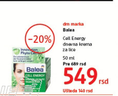 dnevna krema za lice Call Energy