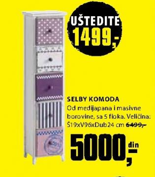 Komoda Selby
