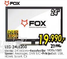 Televizor LED 24LE200