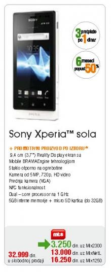 Mobilni Telefon Xperia Sola
