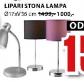 Stona lampa Lipari