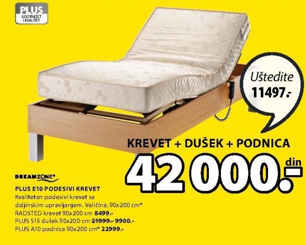 Krevet Plus E10