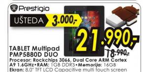 Tablet Multipad PMP5880D DUO