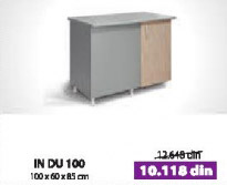 Kuhinjski element IN DU100