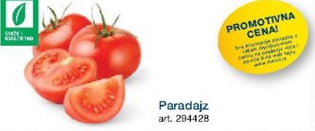 Promotivna cena paradajza