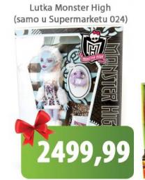 Lutka Monster High
