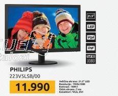 "Monitor LED 21,5"" 223V5LSB/00"