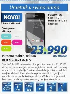Mobilni Telefon Studio 5.0c HD