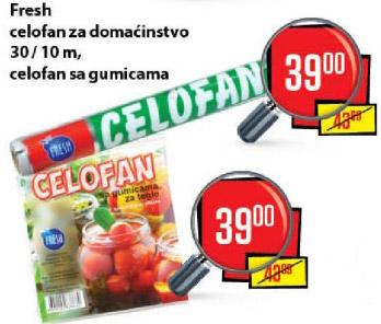 Celofan za domaćinstvo 30/10m