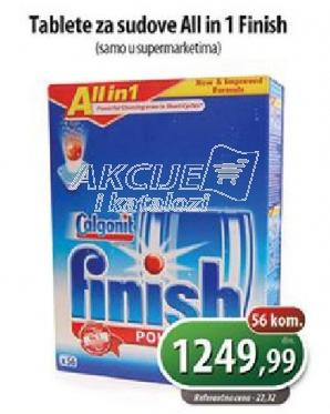 Deterdžent za mašinsko pranje sudova - tablete