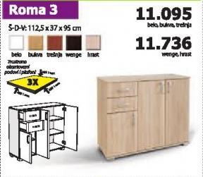 Komoda Roma 3