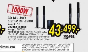 Blu-ray sistem BH-6530T
