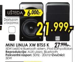 Mini linija XW-BTS5-K