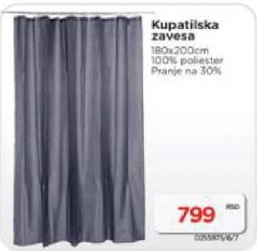 Kupatilska zavesa