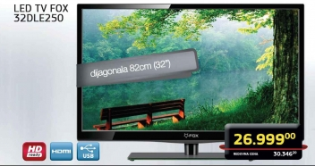 LED TV 32DLE250