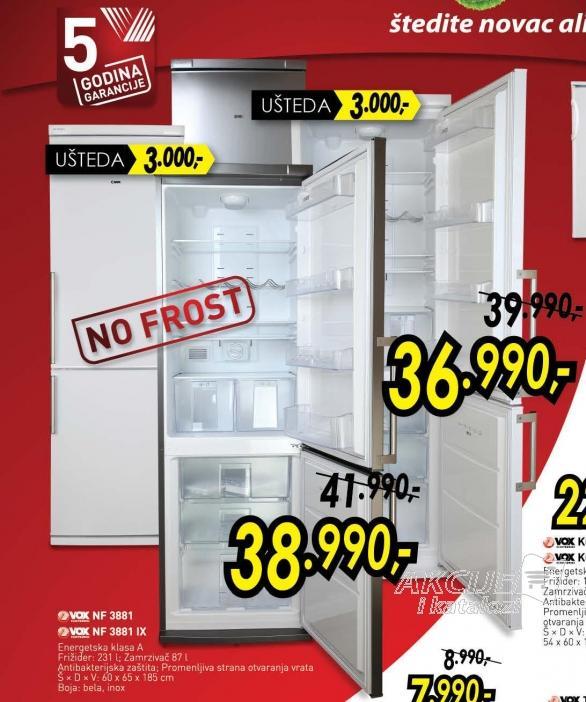 Kombinovani frižider Nf 3881