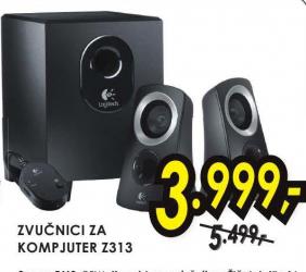 Zvučnici za kompjuter Z313