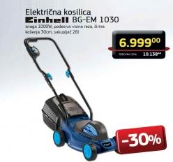 Električna Kosilica BG-EM 1030