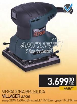 Vibracion brusilica Vlp703