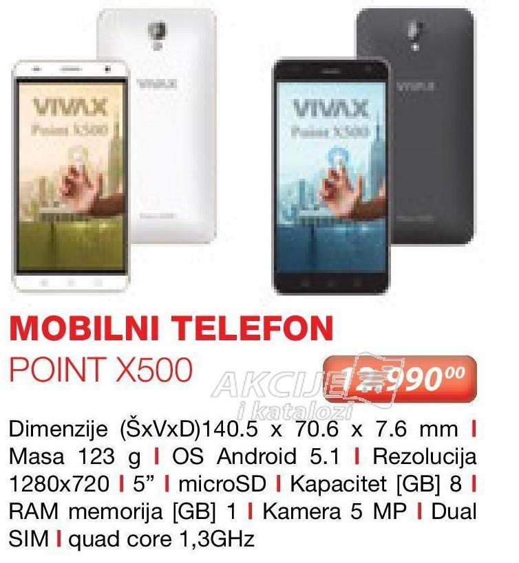Mobilni telefon Point X500