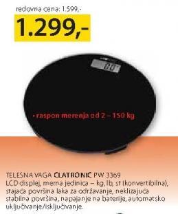 Telesna Vaga PW 3369