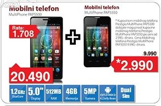Mobilni telefon MultiPhone Pap5500