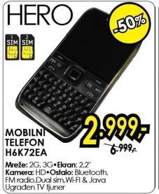 Mobilni telefon H6k72ea Hero