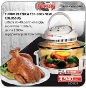 Turbo Pećnica CSS-5005