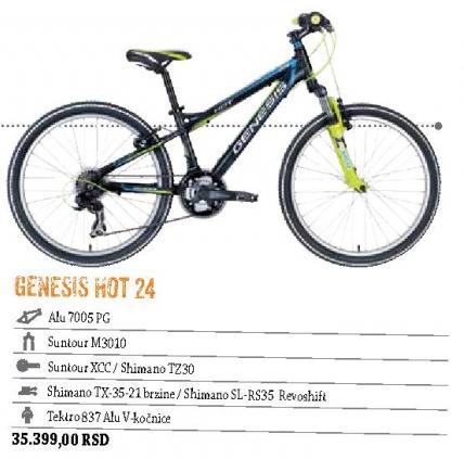 Genesis Hot 24