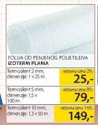 Folija od penjenog polietilena