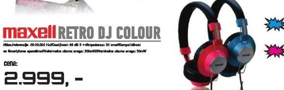 Slušalice Retro DJ Colour