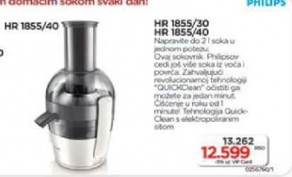 Sokovnik HR1855/40