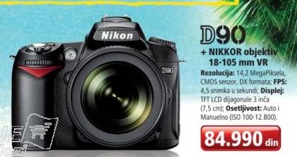 Fotoaparat D90