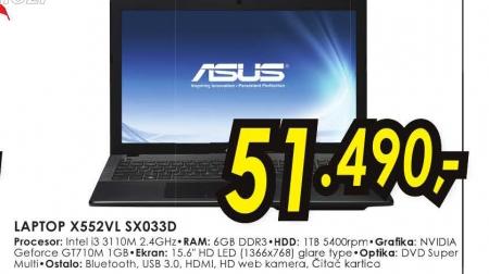 Laptop X552VL-SX033D