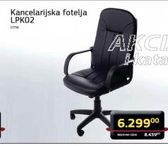 Kancelarijska fotelja LPK02