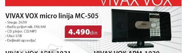 Micro linija Vivax MC-505