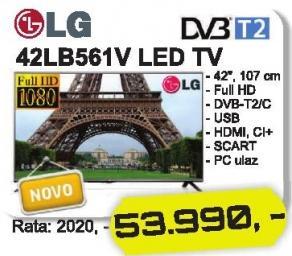 """Televizor LED 42"""" 42lb561v"""
