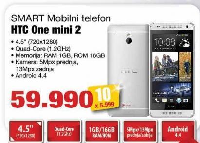 Mobilni telefon One Mini 2