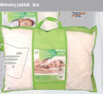 Memory jastuk ''Lux'' 50/70